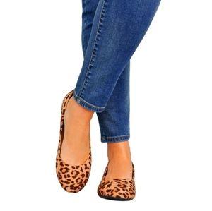 New Shoes Ballet Flats cheetah 7.5 Shoes Black